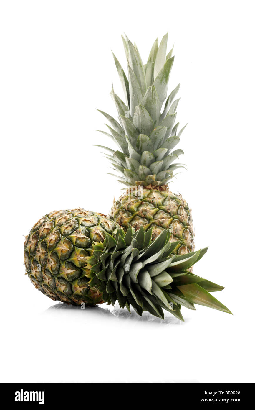 fresh pineapple - Stock Image