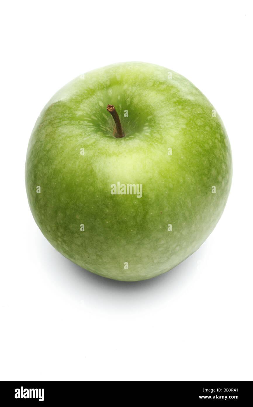 Green apple - Stock Image