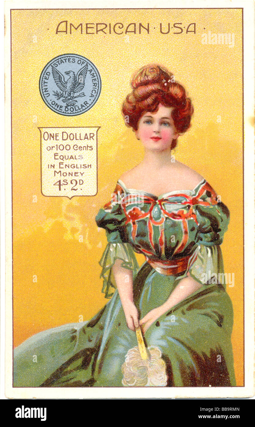 Advertisement for English & Scottish Co-operative Wholesale Societies Packet Teas circa 1905 - Stock Image