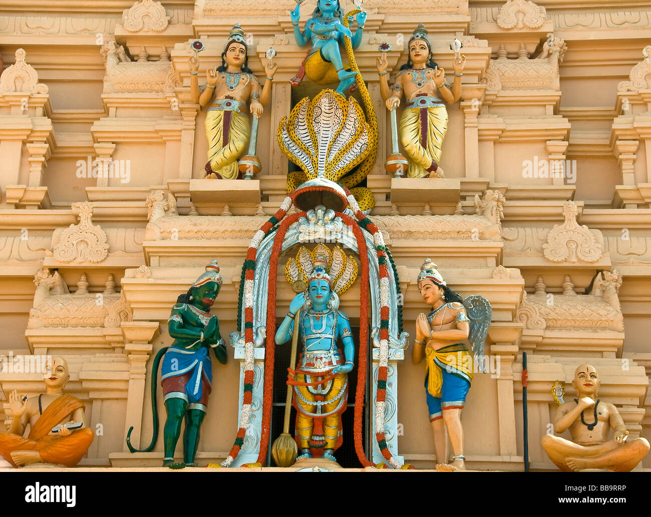 sri krishna temple in udupi karnataka south india india BB9RRP