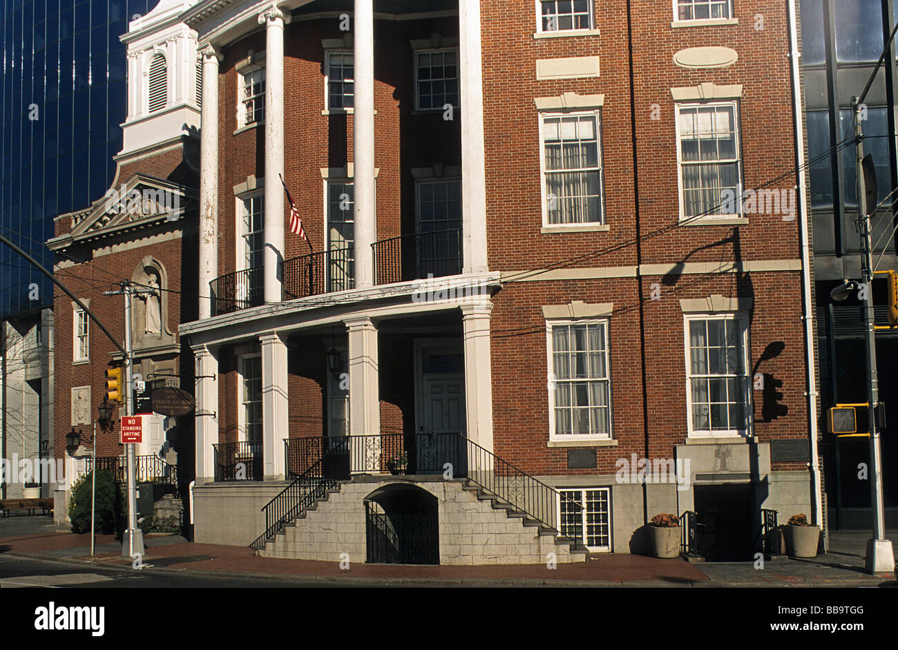 New York, James Watson House, now Rectory of the Shrine of Elizabeth Ann Seton. - Stock Image