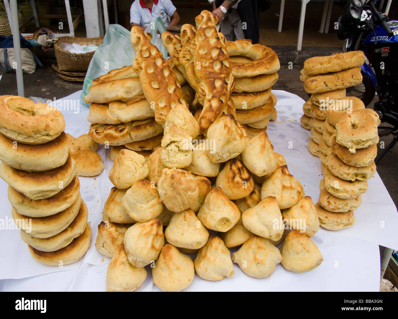 Paraguay.Chipas (Traditional Bread). - Stock Image