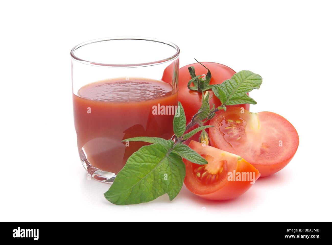 Tomatensaft tomato juice 03 - Stock Image