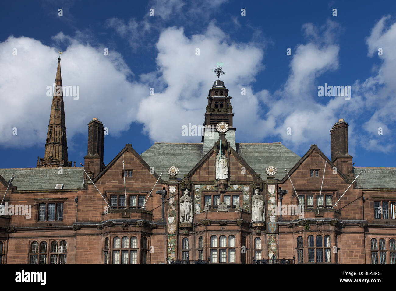 The Coventry City Council House in Coventry, West Midlands of England, United Kingdom Stock Photo