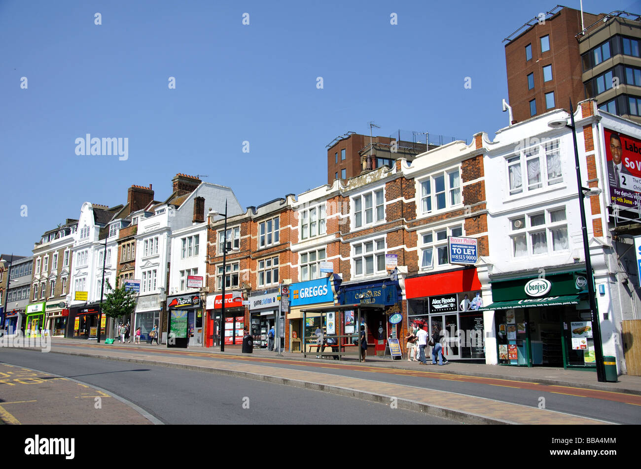 High street bromley greater london stock photos high for The bromley