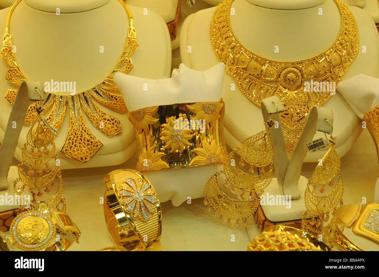 Istanbul Gold Jewelry Jewellery Stock Photos Istanbul Gold Jewelry