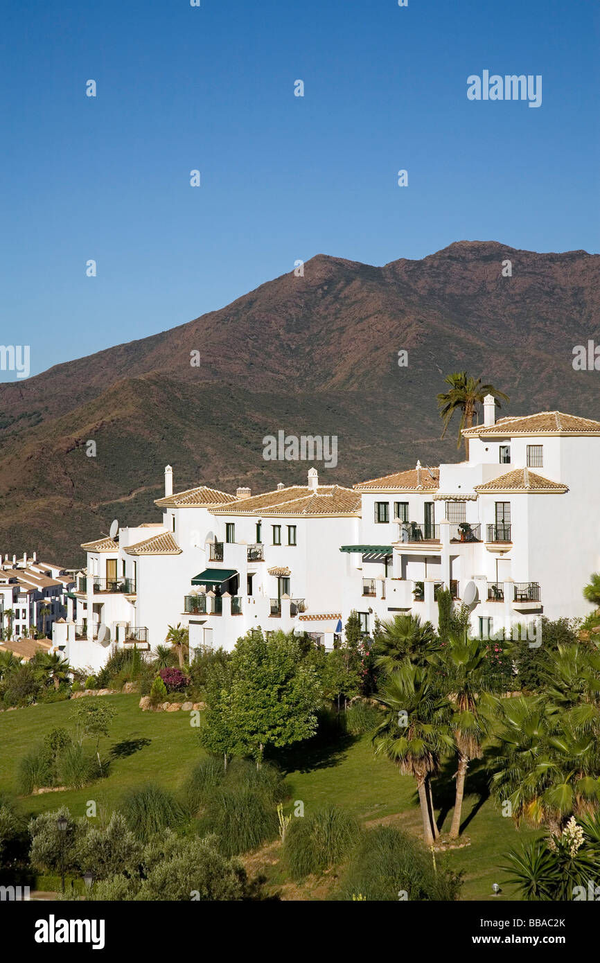 Urbanization Alhaurin Golf in Alhaurin el Grande Malaga Andalusia Spain - Stock Image