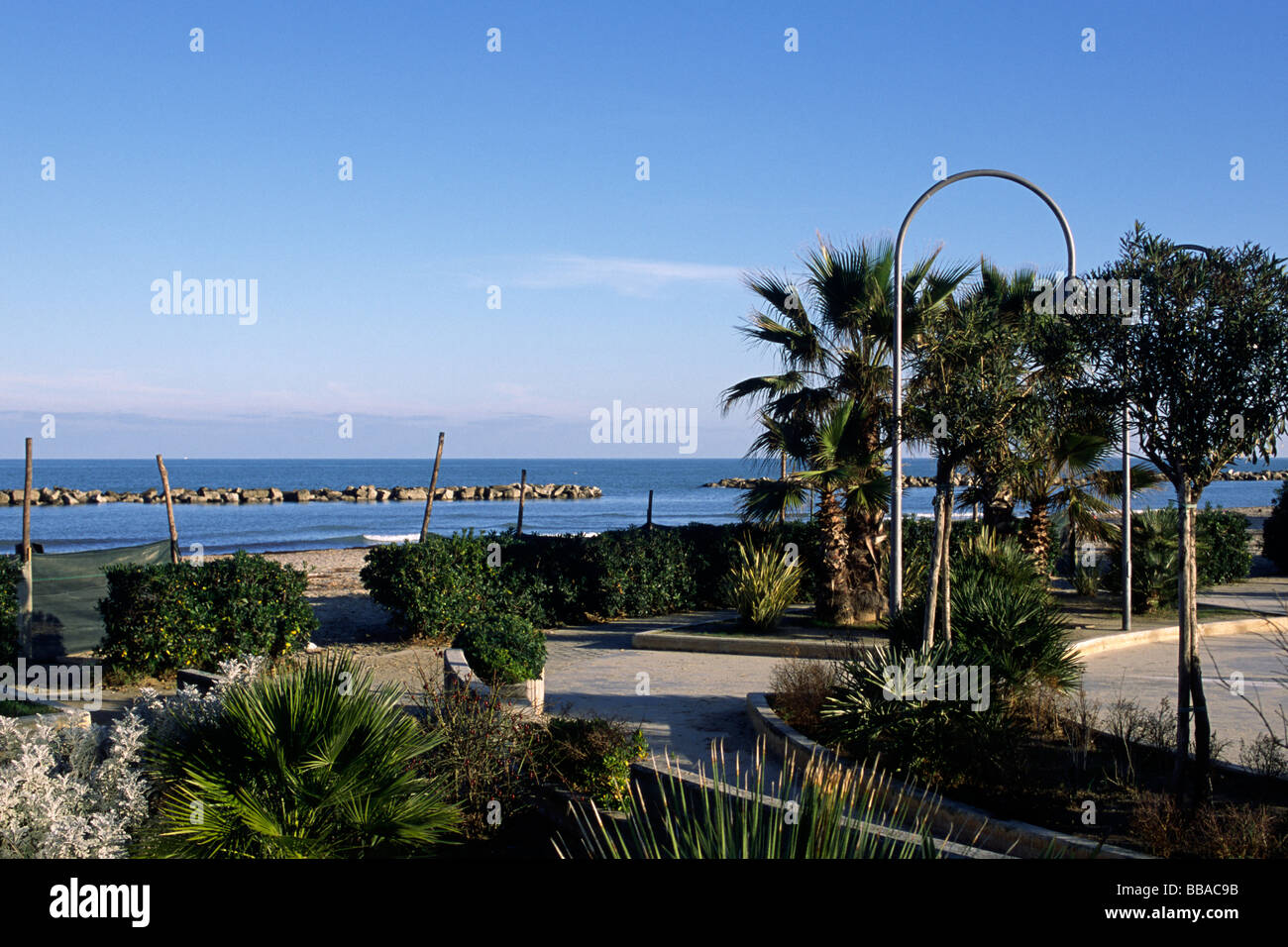 italy, le marche, san benedetto del tronto Stock Photo