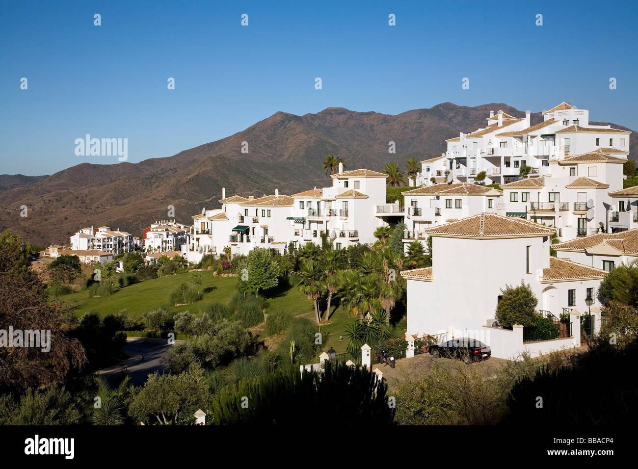 Urbanization Alhaurin Golf in Alhaurin el Grande Malaga Andalusia Spain Stock Photo