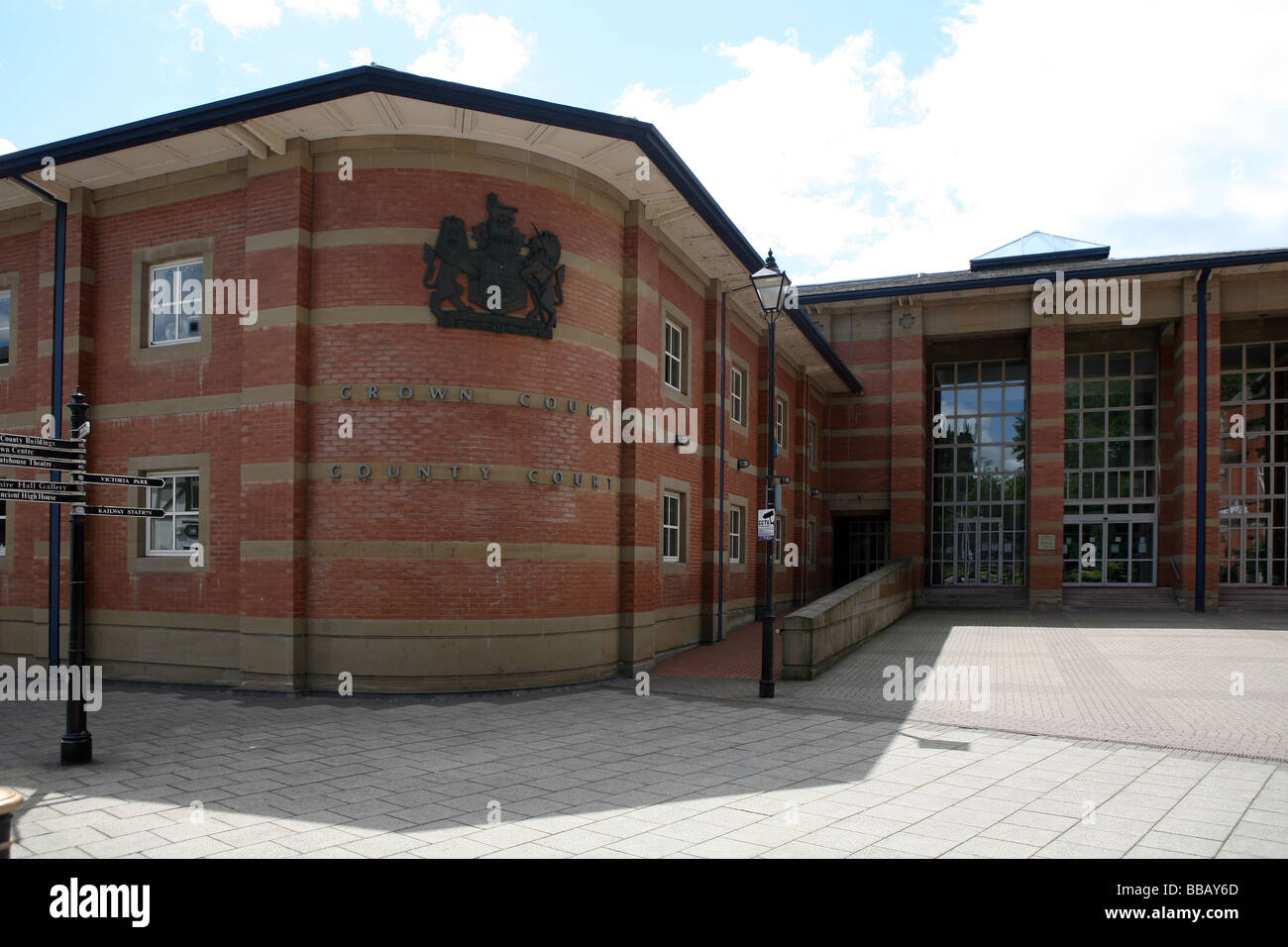 Stafford Crown Court and Staffordshire County Court in