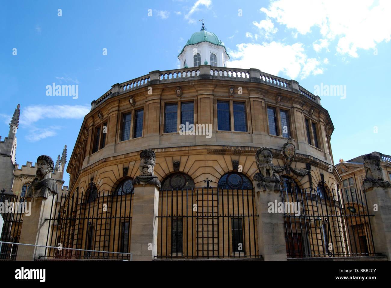 Sheldonian Theatre Oxford Stock Photo