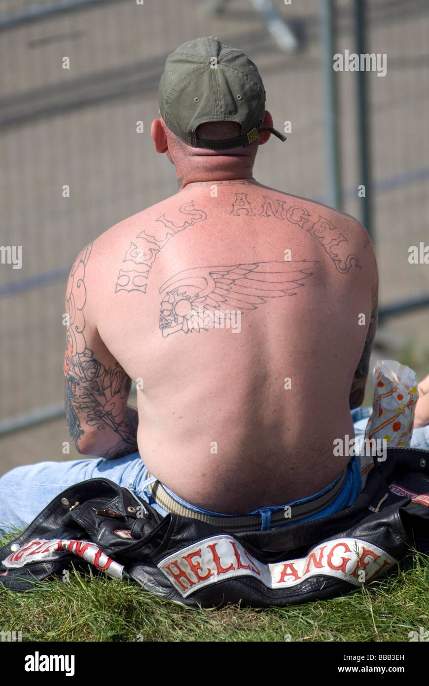 Biker Gang Tattoo Stock Photos & Biker Gang Tattoo Stock Images - Alamy