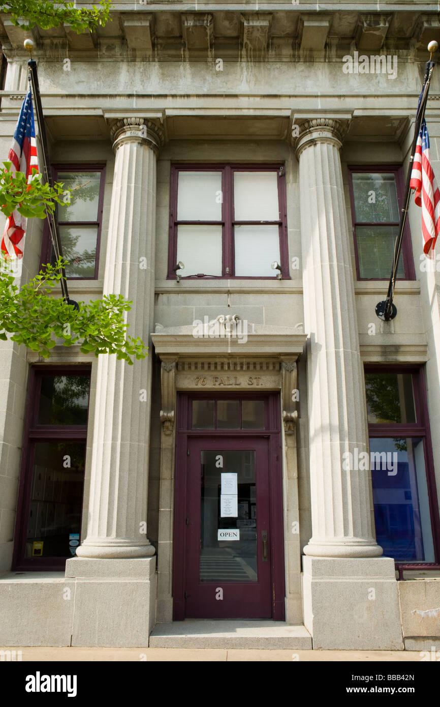 National Women's Hall of Fame Seneca Falls New York Seneca County Finger Lakes Region - Stock Image