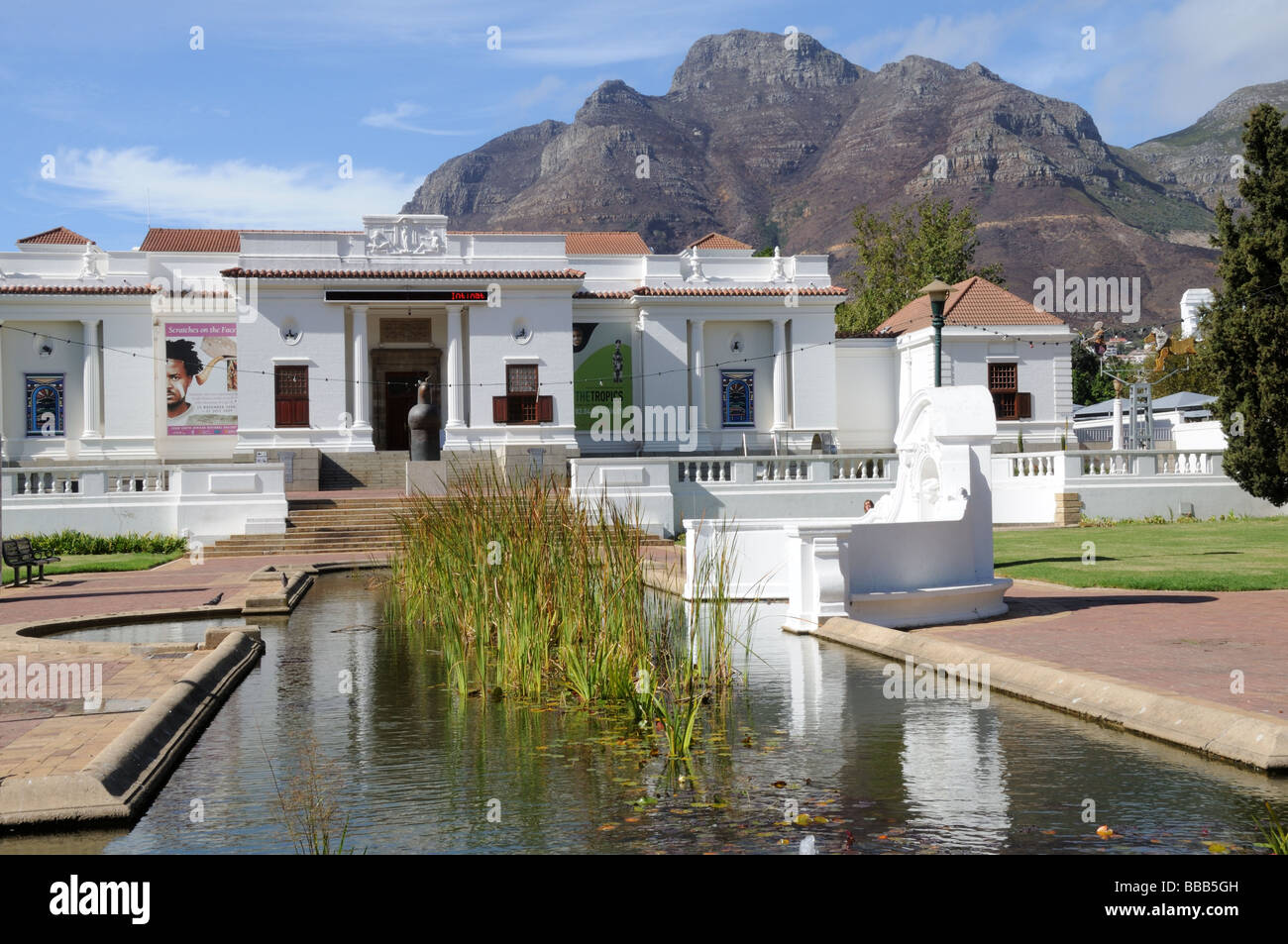 South African National Gallery company's Garden Cape Town south Africa - Stock Image