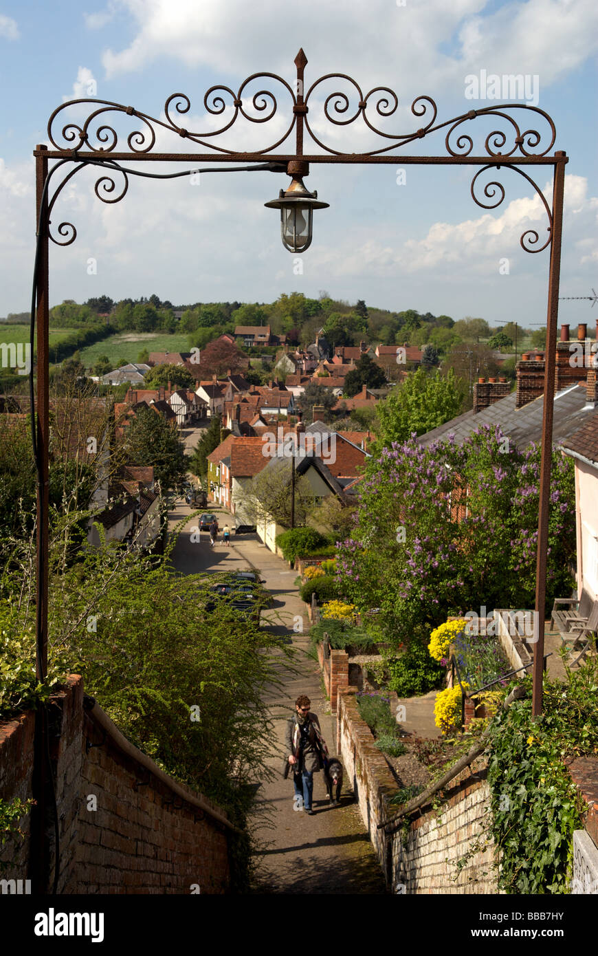 Kersey, Suffolk, UK. - Stock Image
