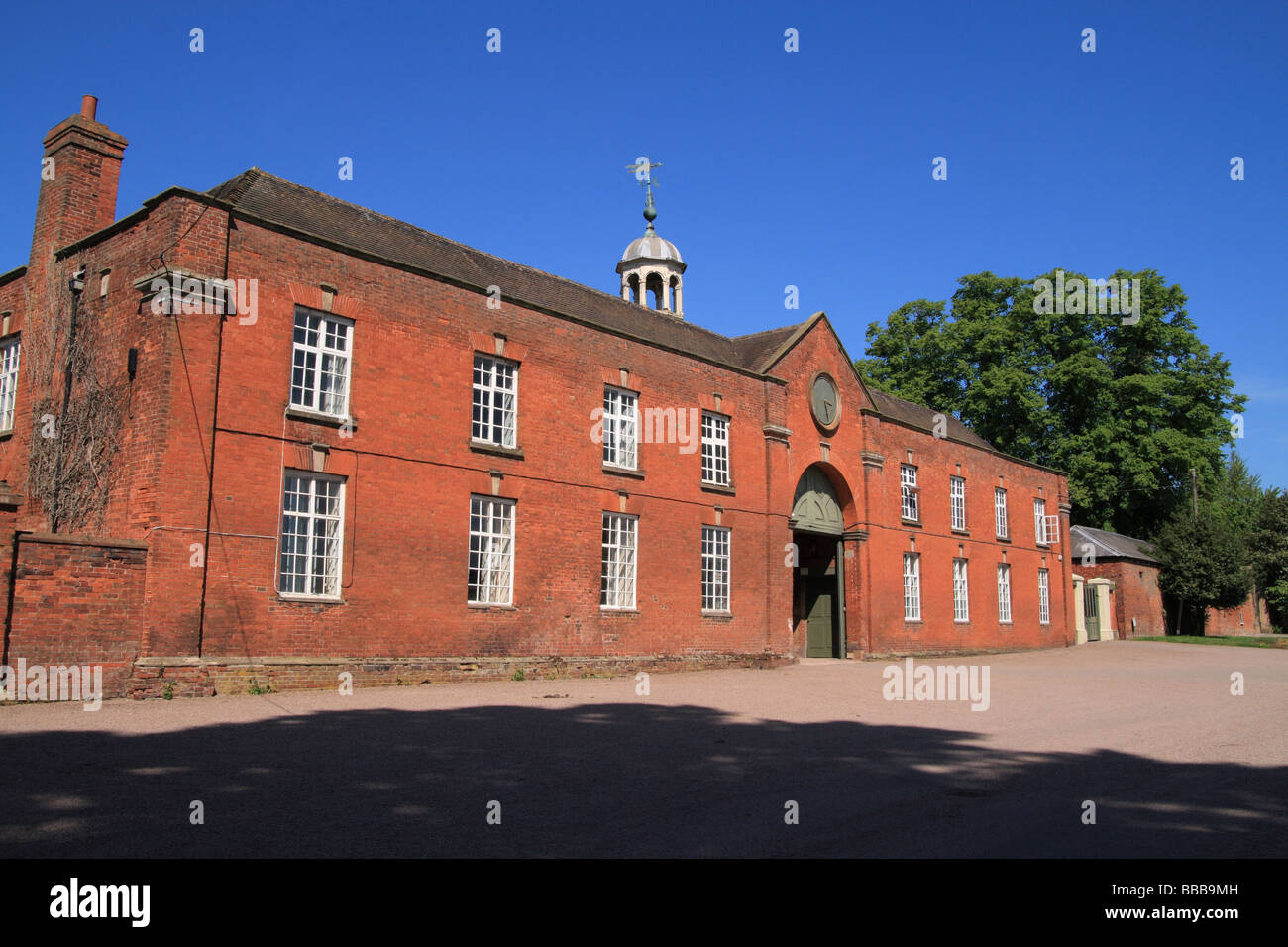 Enville Hall Coach House, Enville, Staffordshire, England - Stock Image