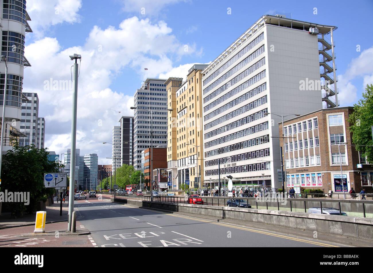 Wellesley Road, Croydon, London Borough of Croydon, Greater London, England, United Kingdom - Stock Image