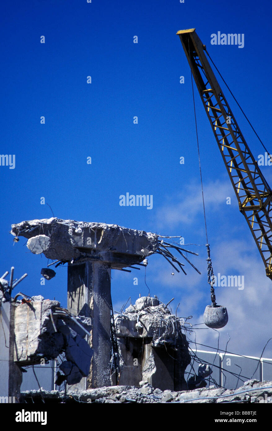 construction wrecking ball stock photos amp construction