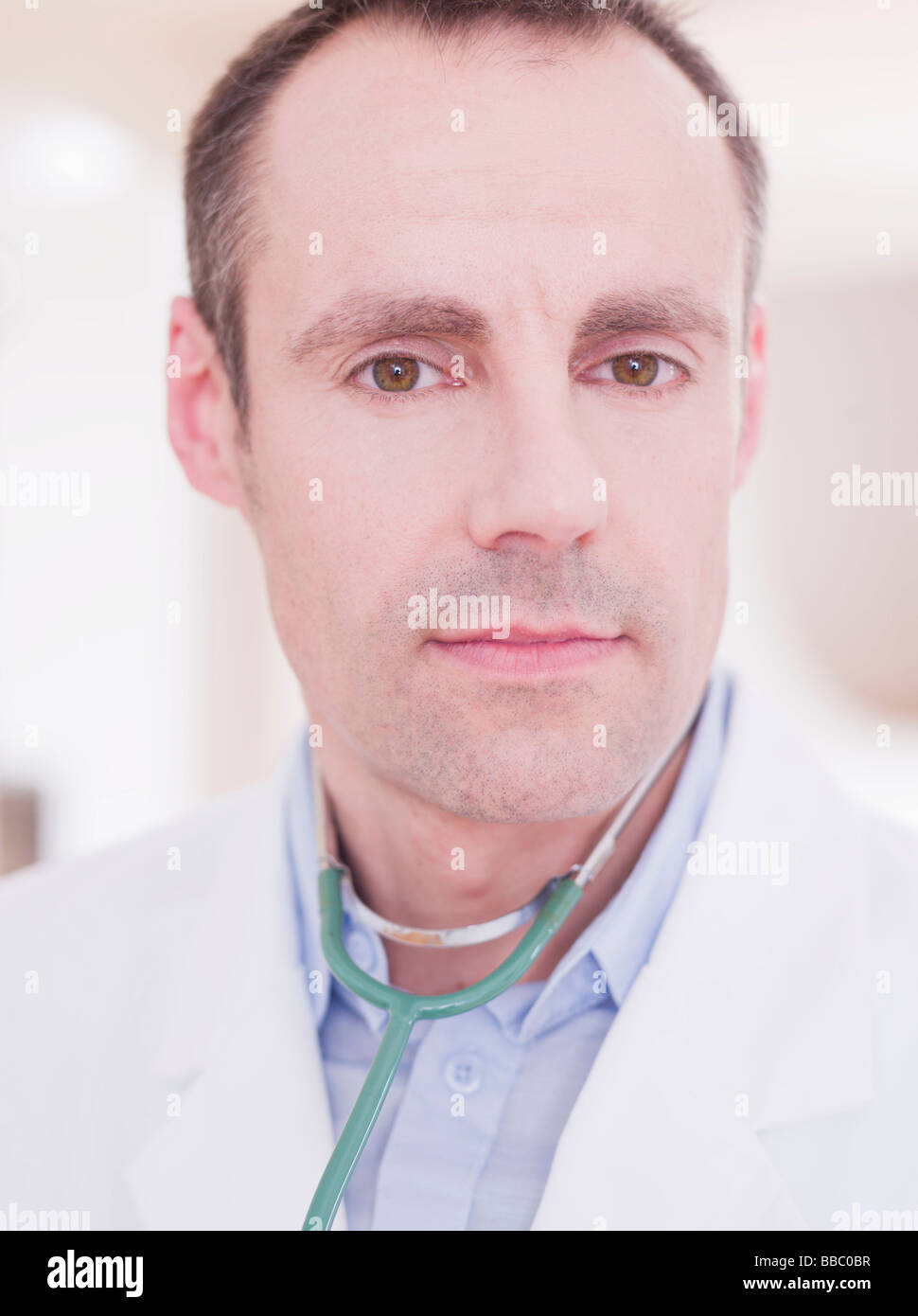 medic looking at viewer - Stock Image