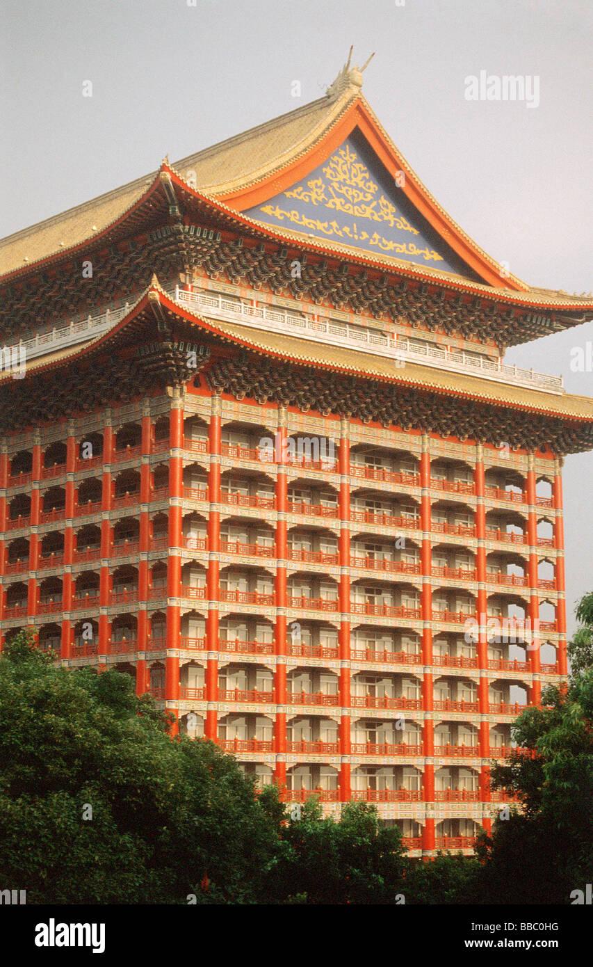 Taiwan Taipei Grand Hotel Stock Photo 24235500 Alamy