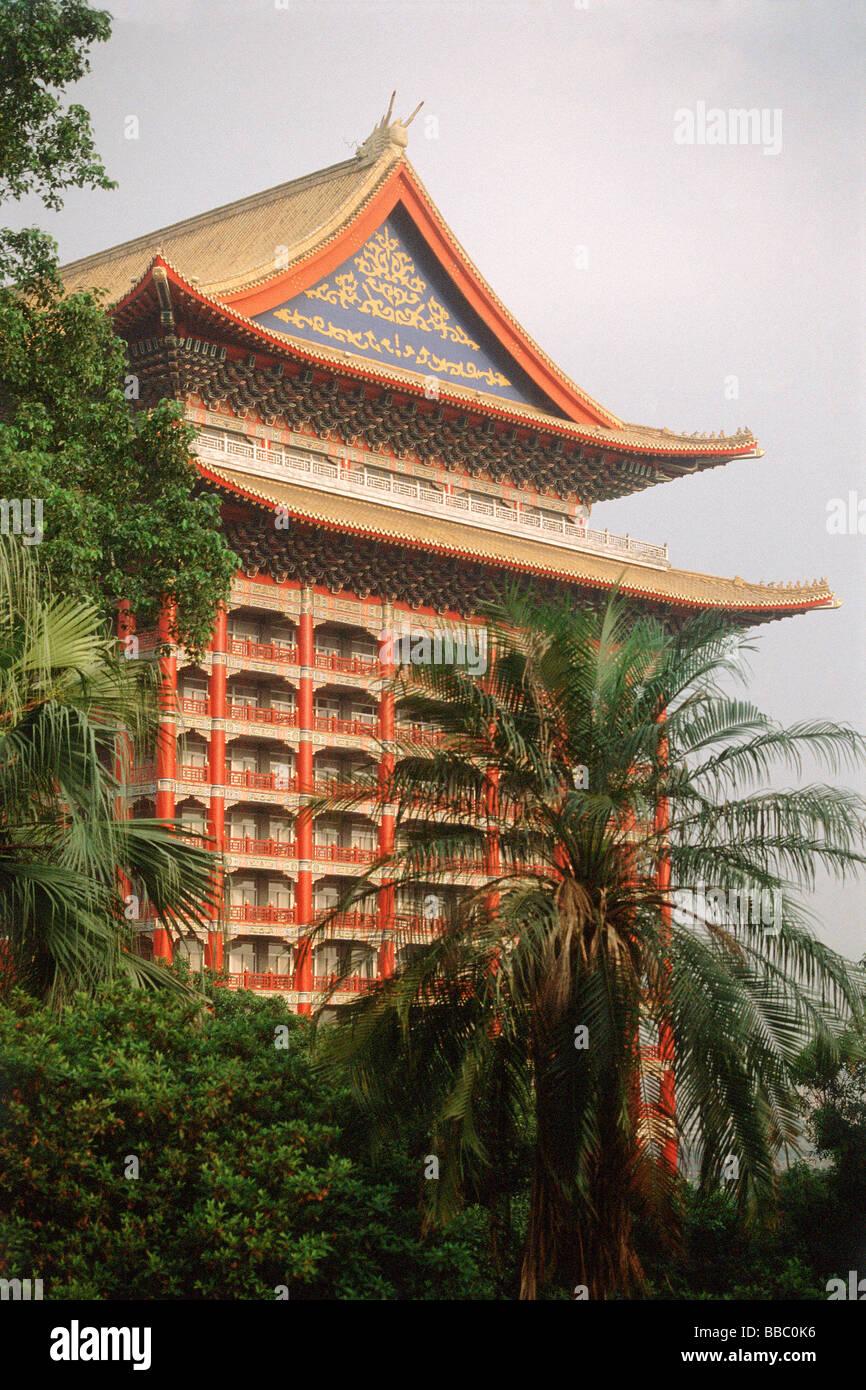 Taiwan Taipei Grand Hotel Stock Photo 24235546 Alamy