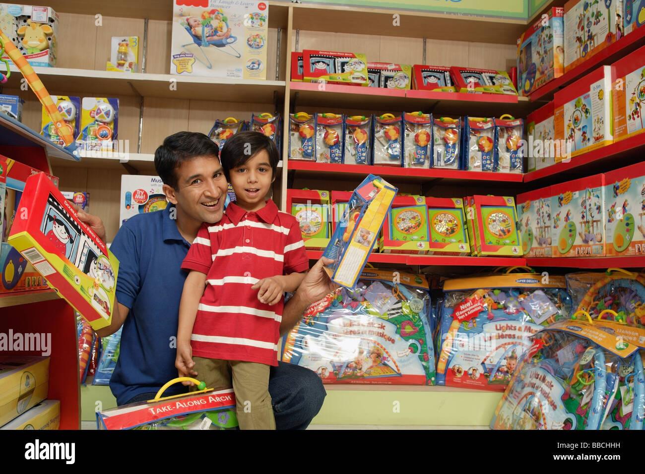 Boy Toys For Dads : Toys for boys shop stock photos