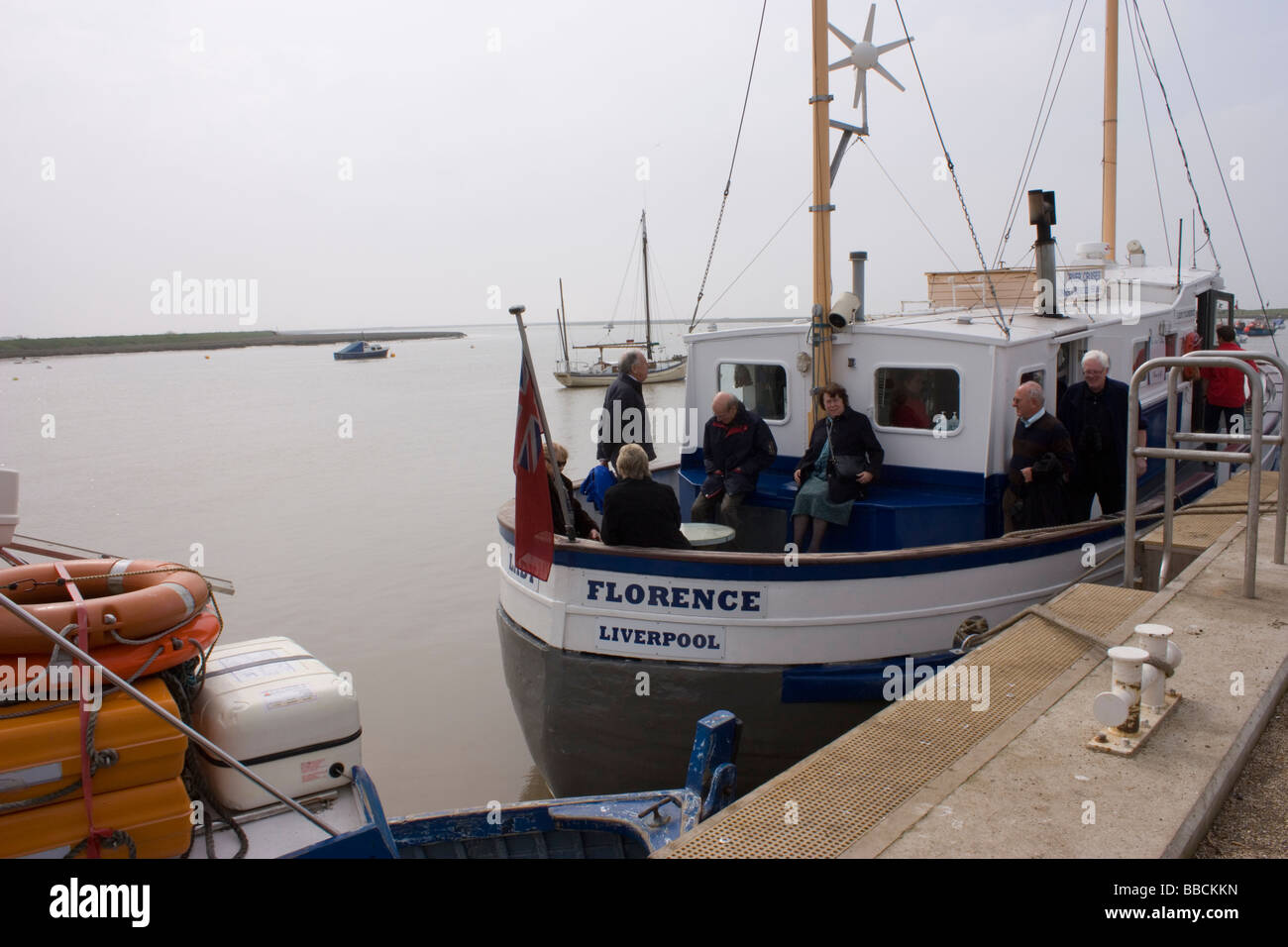 Orford Quay, Suffolk - Stock Image