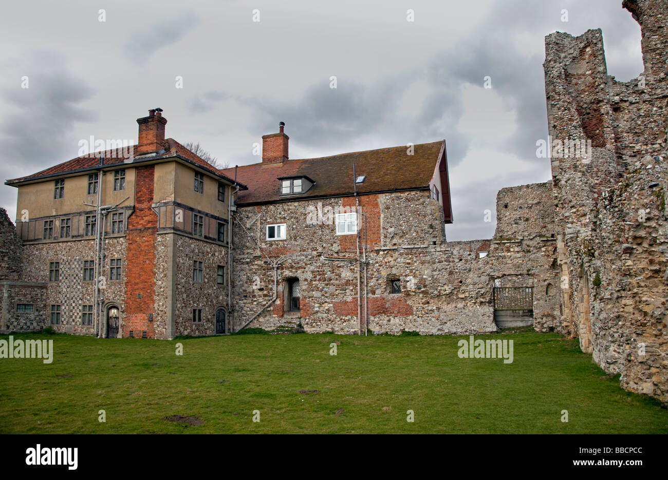 Leiston Abbey, Suffolk, England - Stock Image