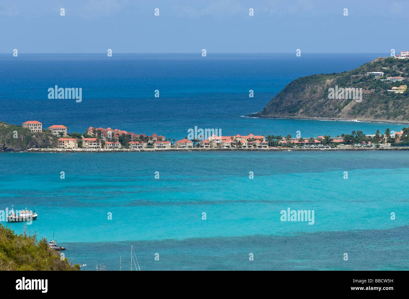 Divi Little Bay Beach Resort St Martin st Maarten Stock Photo ... on
