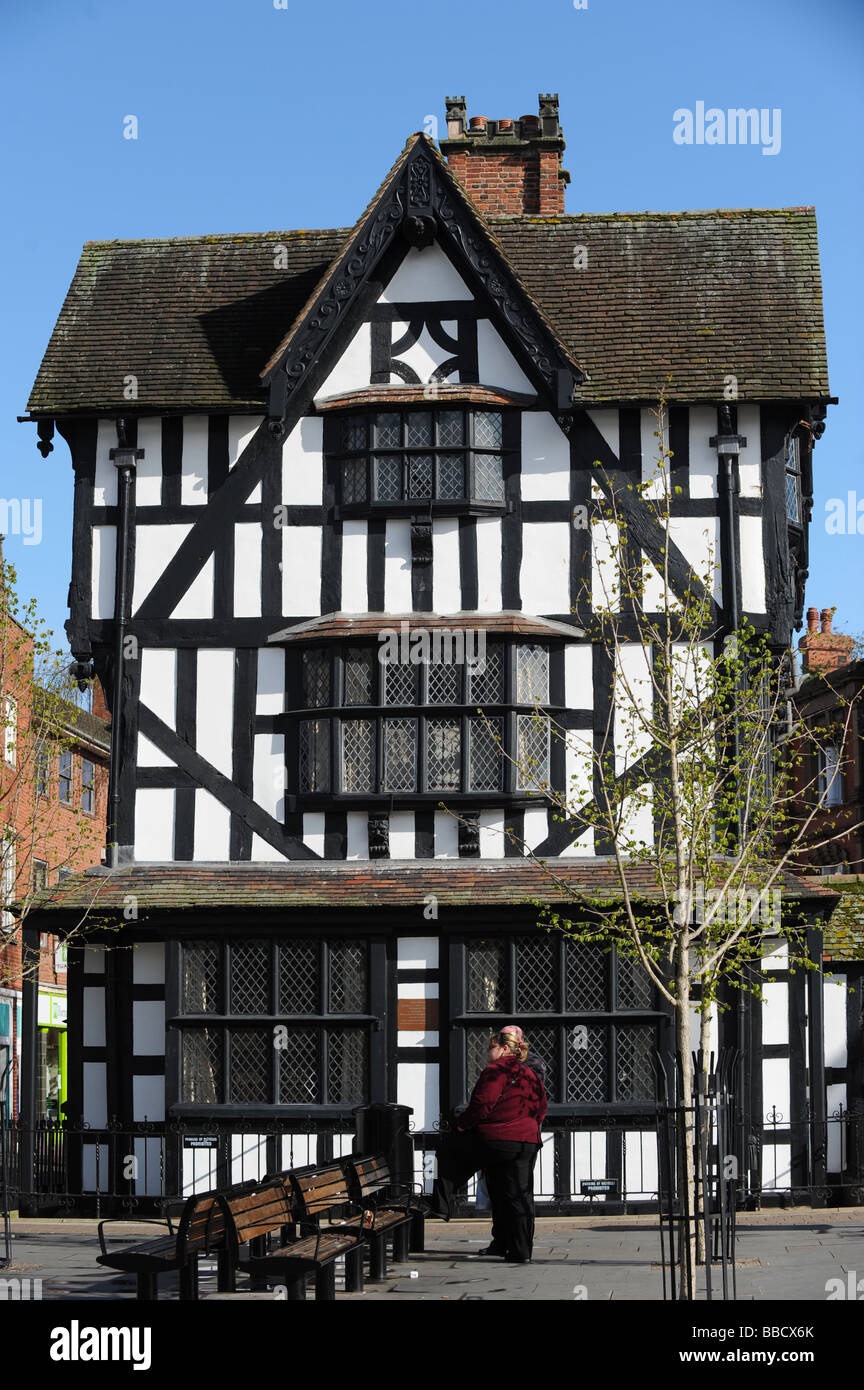 The Old House In Hereford   Stock Image