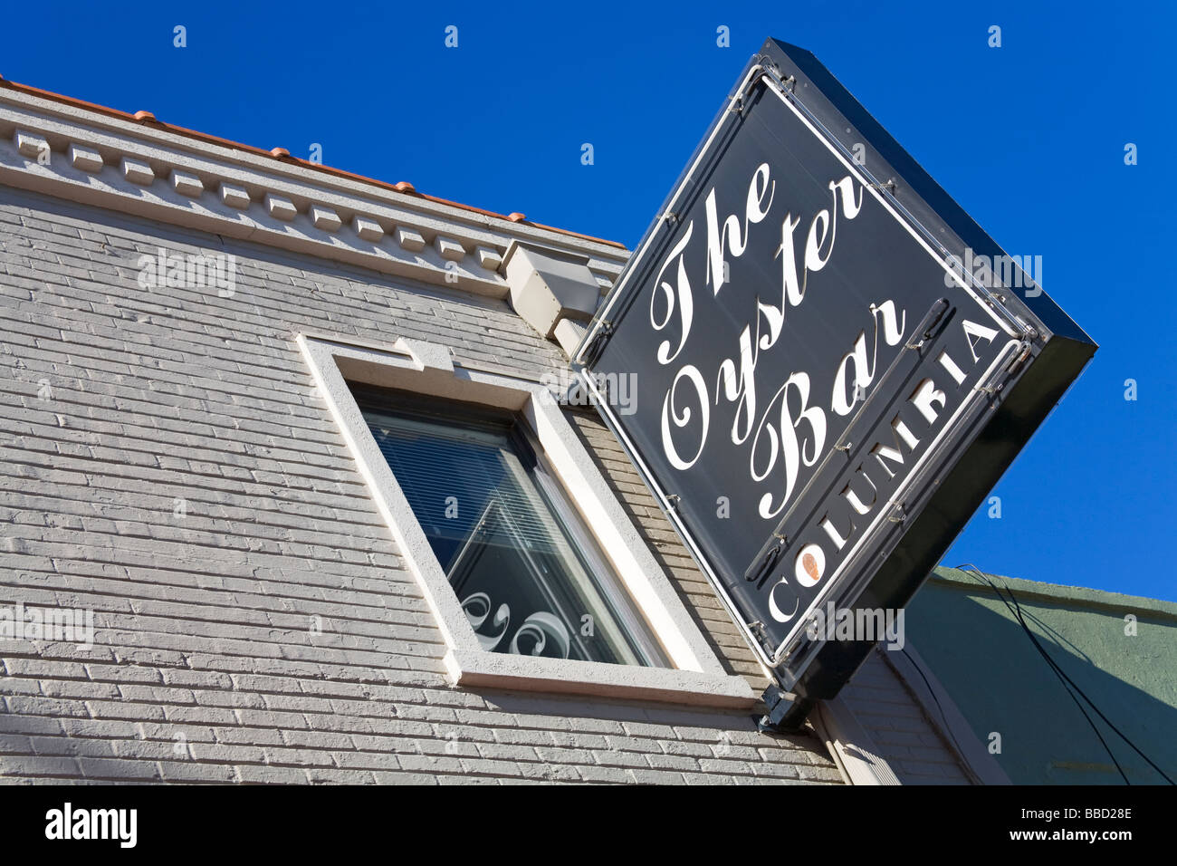 The Oyster Bar Restaurant In The Vista District Columbia South Stock