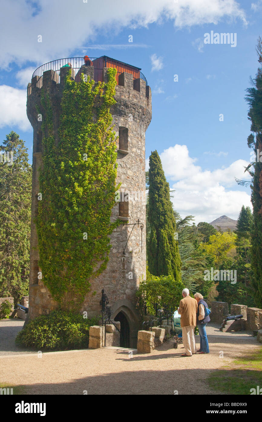 Pepperpot Tower Powerscourt Gardens County Wicklow Ireland Eire Irish Republic Stock Photo