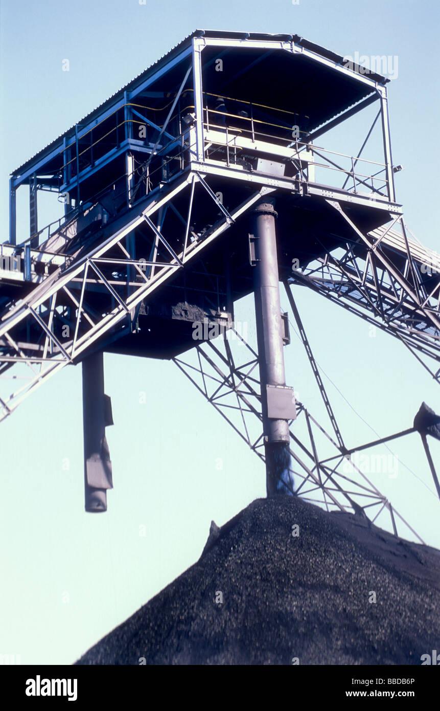 Morupule colliery Stock Photo