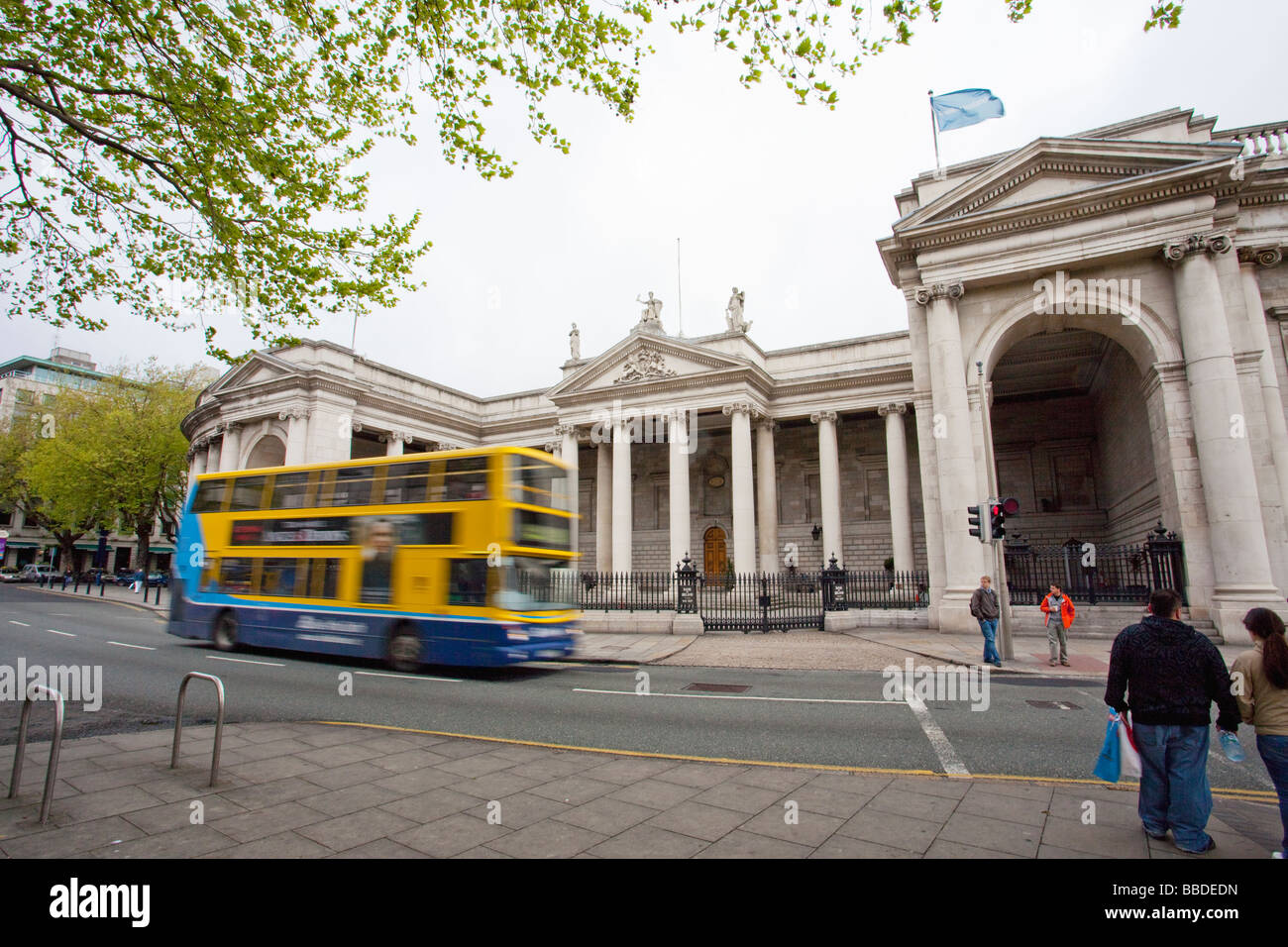Bank of Ireland building College Green Dublin Ireland Eire Irish Republic Europe - Stock Image