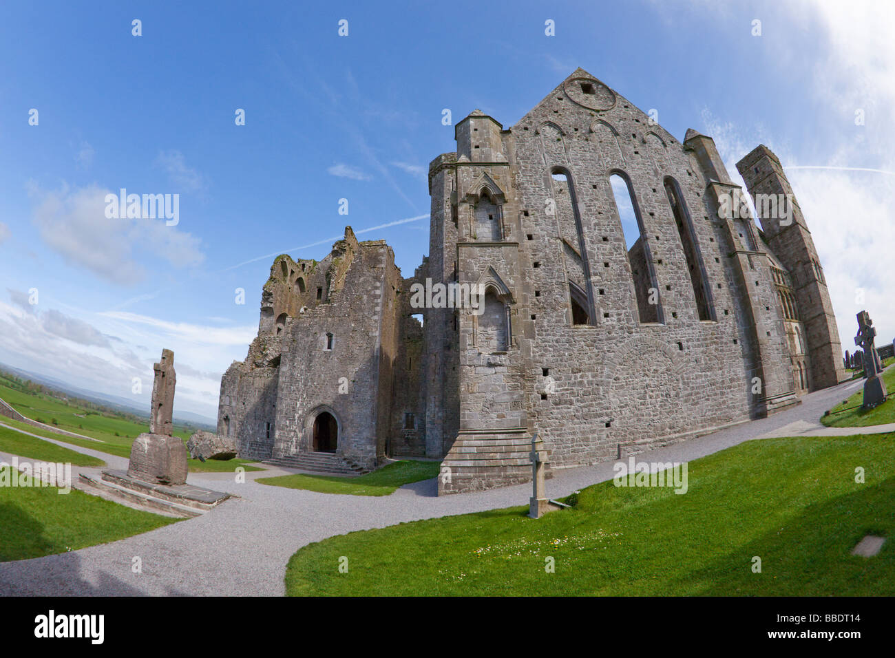 Rock of Cashel County Co Tipperary Ireland Eire Irish Republic Europe - Stock Image