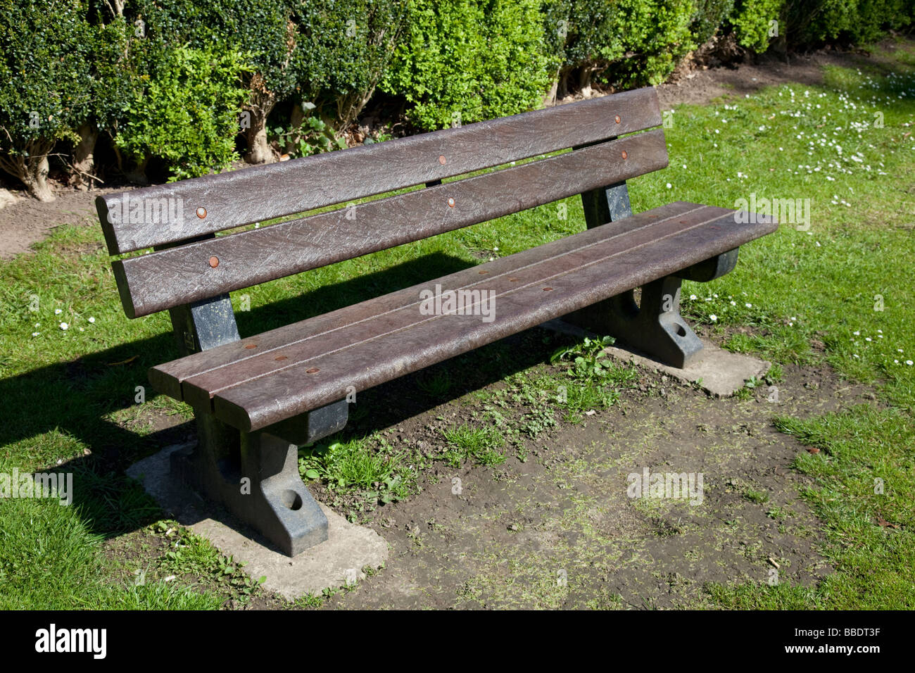 Marvelous C8 Alamy Com Comp Bbdt3F Park Bench Seat Made Of B Ncnpc Chair Design For Home Ncnpcorg