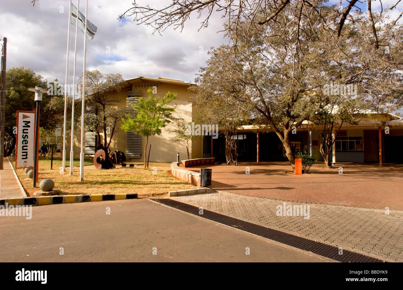 Botswana Museum & Art gallery Stock Photo
