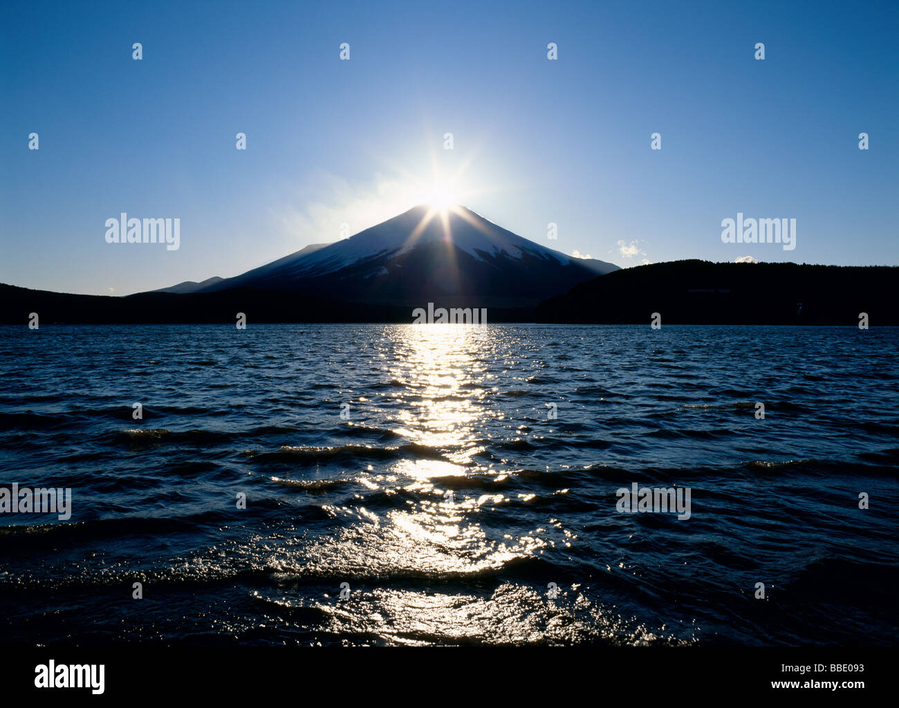 Diamond Fuji - Stock Image