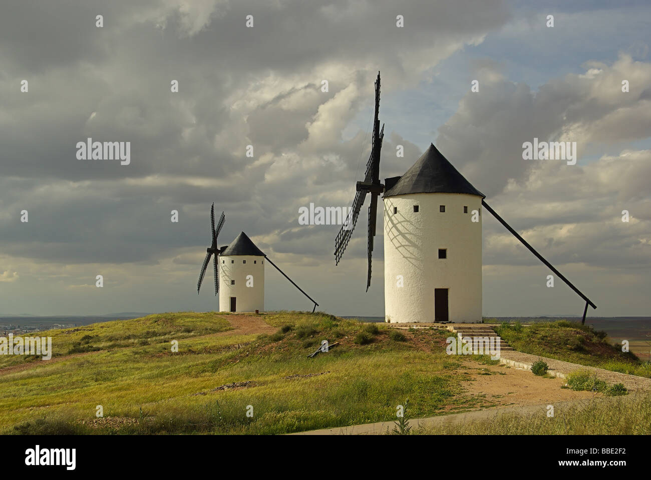 Alcazar Windmühle Alcazar windmill 06 Stock Photo