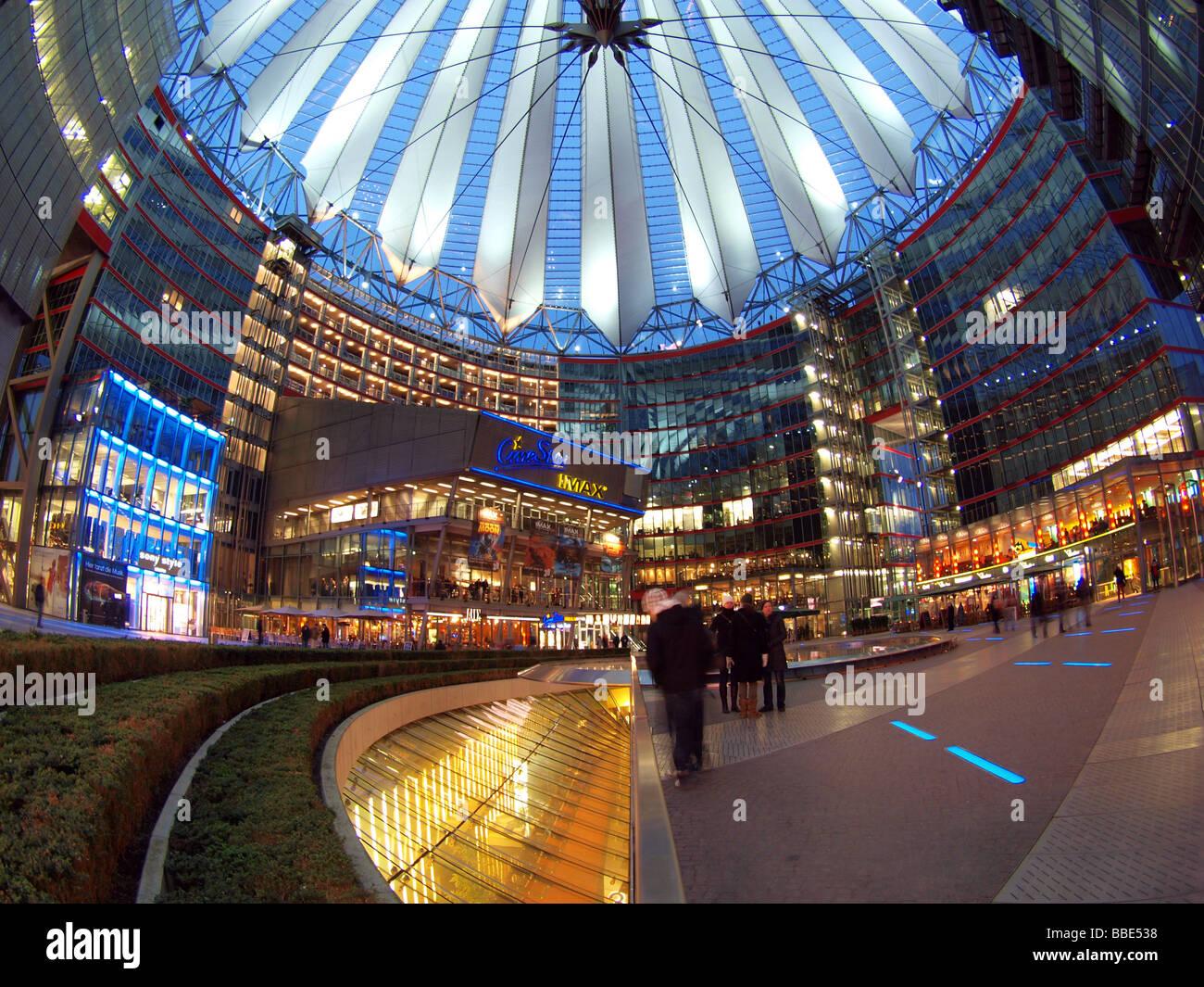 Sony Center, Berlin, Germany, Europe Stock Photo