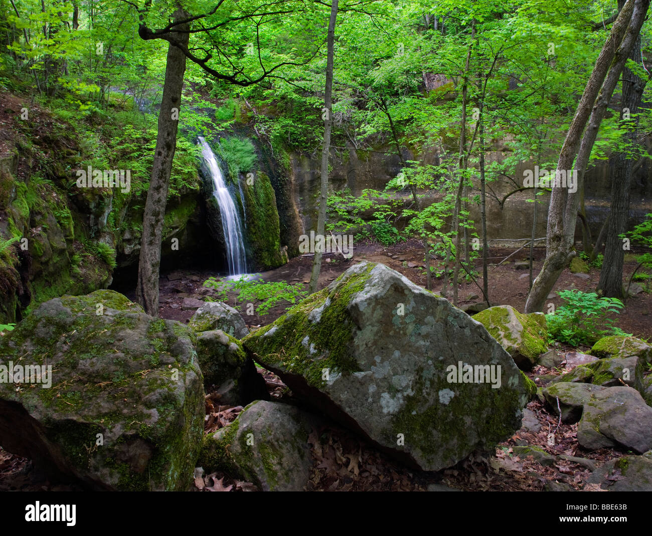 Stephens Falls, Governor Dodge State Park, Wisconsin - Stock Image