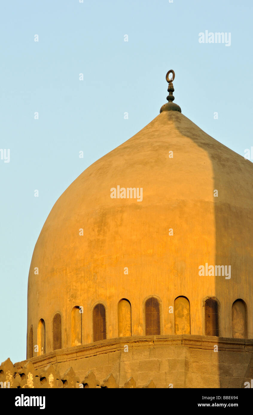 Detail of Mosque Dome Islamic Cairo Egypt - Stock Image