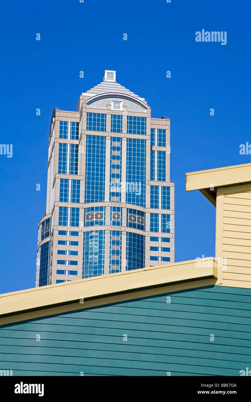 Washington Mutual Tower; Seattle, Washington State, USA - Stock Image