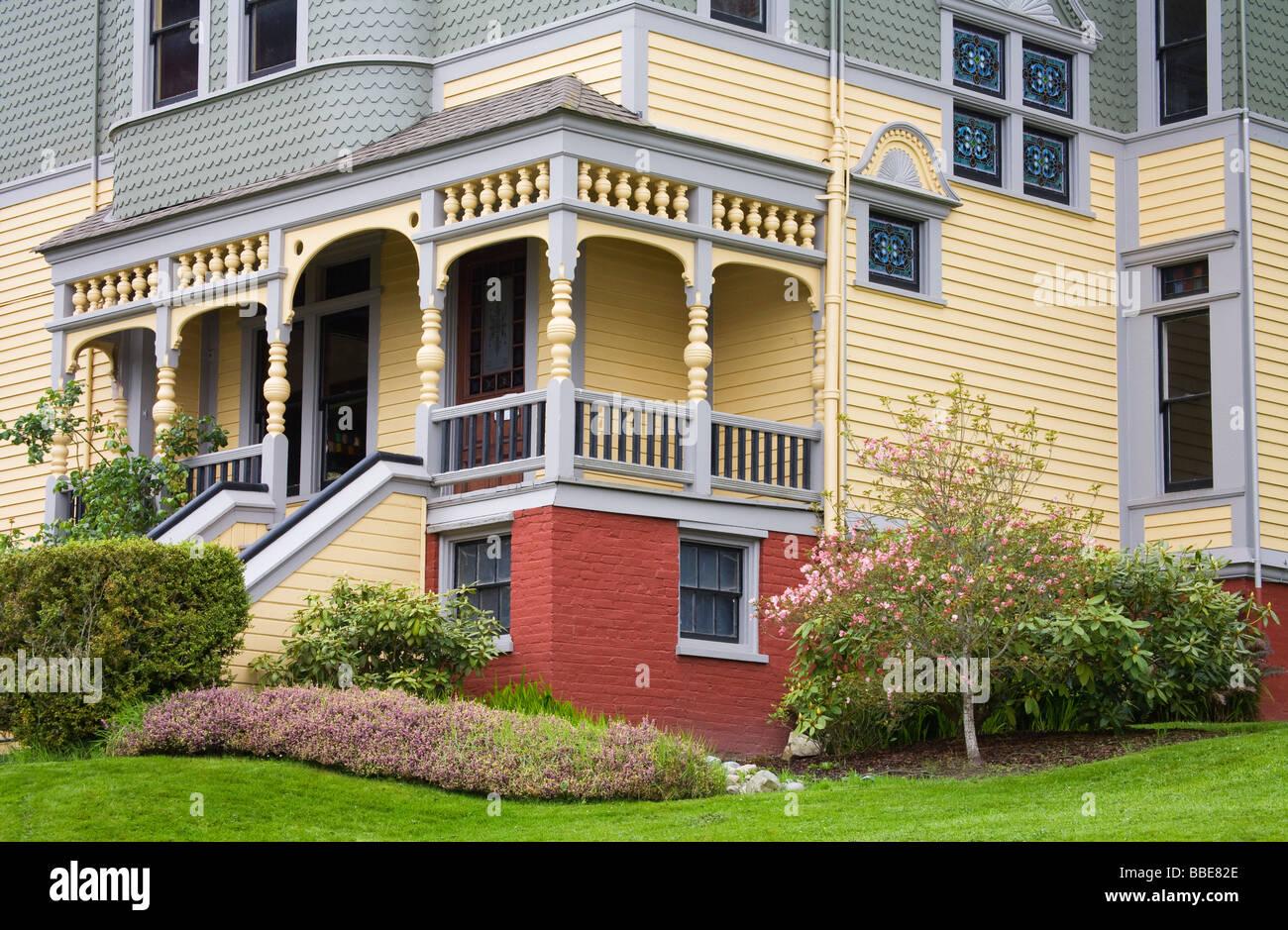 W.M Walker - E.G Ames House; Port Gamble, Washington State, USA - Stock Image