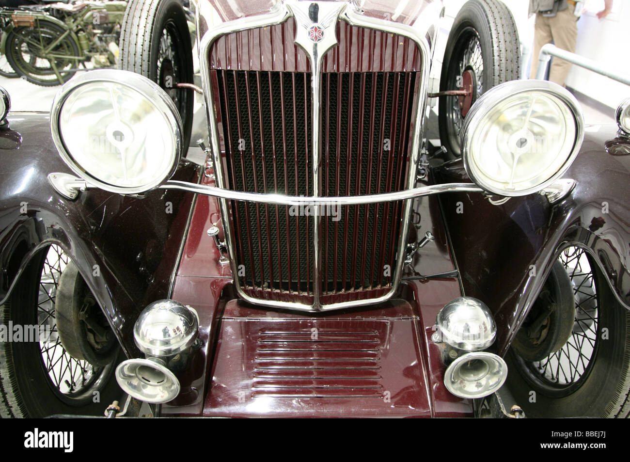 1931 Star Comet saloon car at Black Country Living Museum - Stock Image