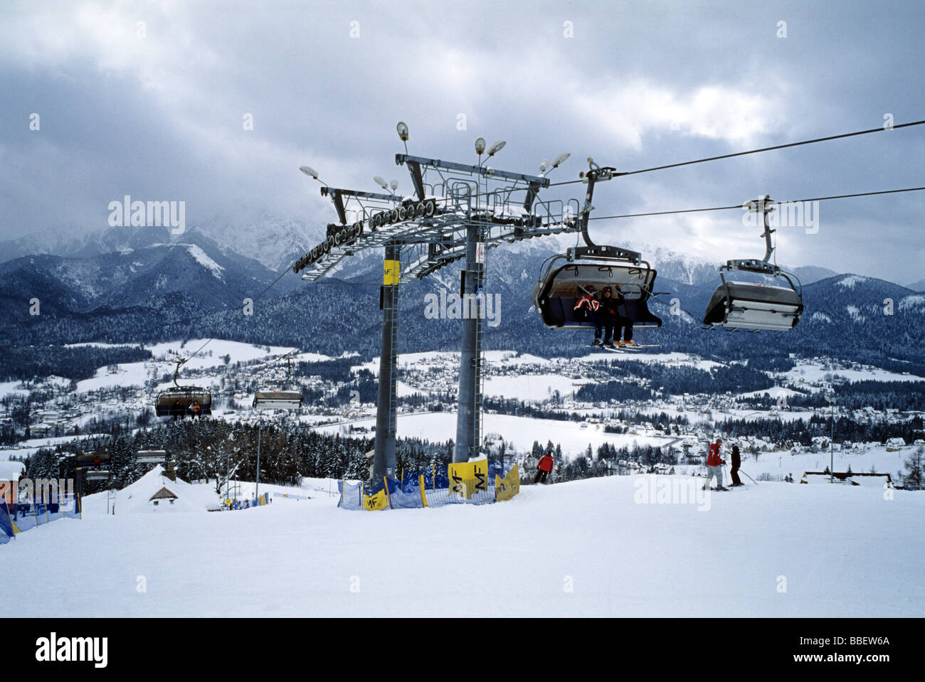 Zakopane Ski Slopes