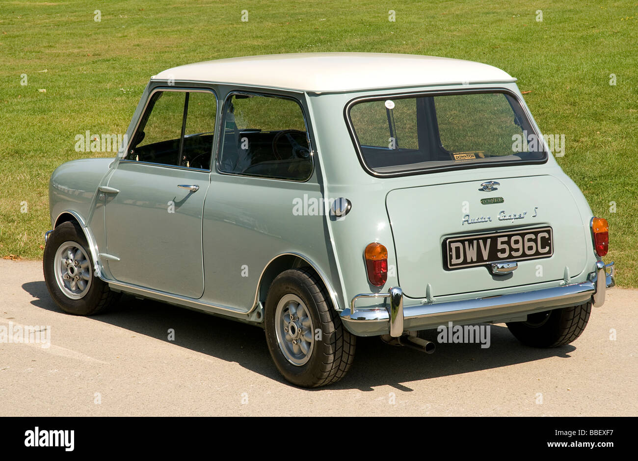 1965 Mini Cooper S - Stock Image
