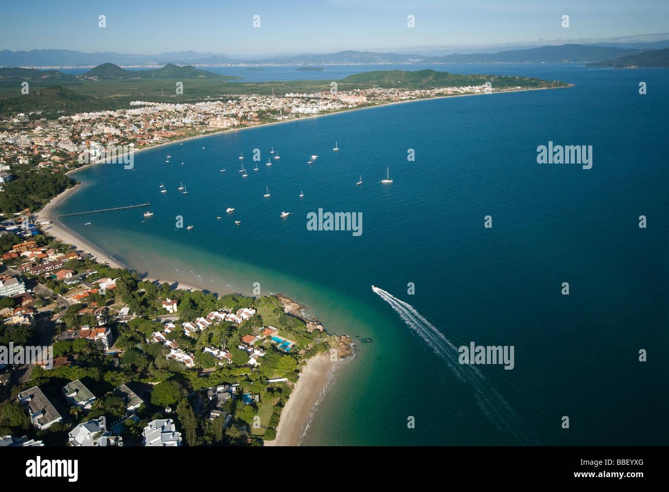 Jurere Beach, Florianopolis, Brazil - Stock Image