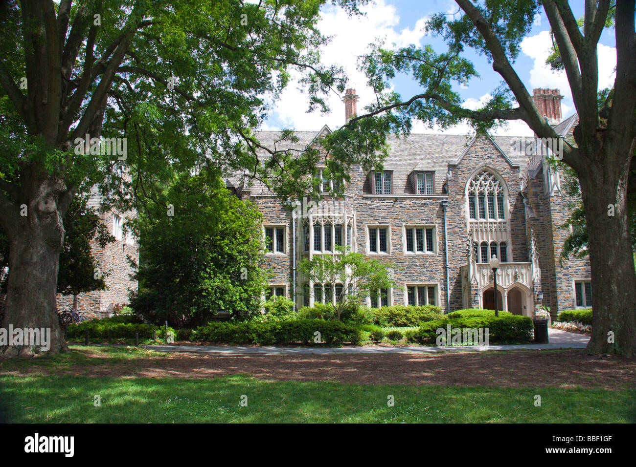 Social Sciences Building, Duke University, Durham NC USA - Stock Image