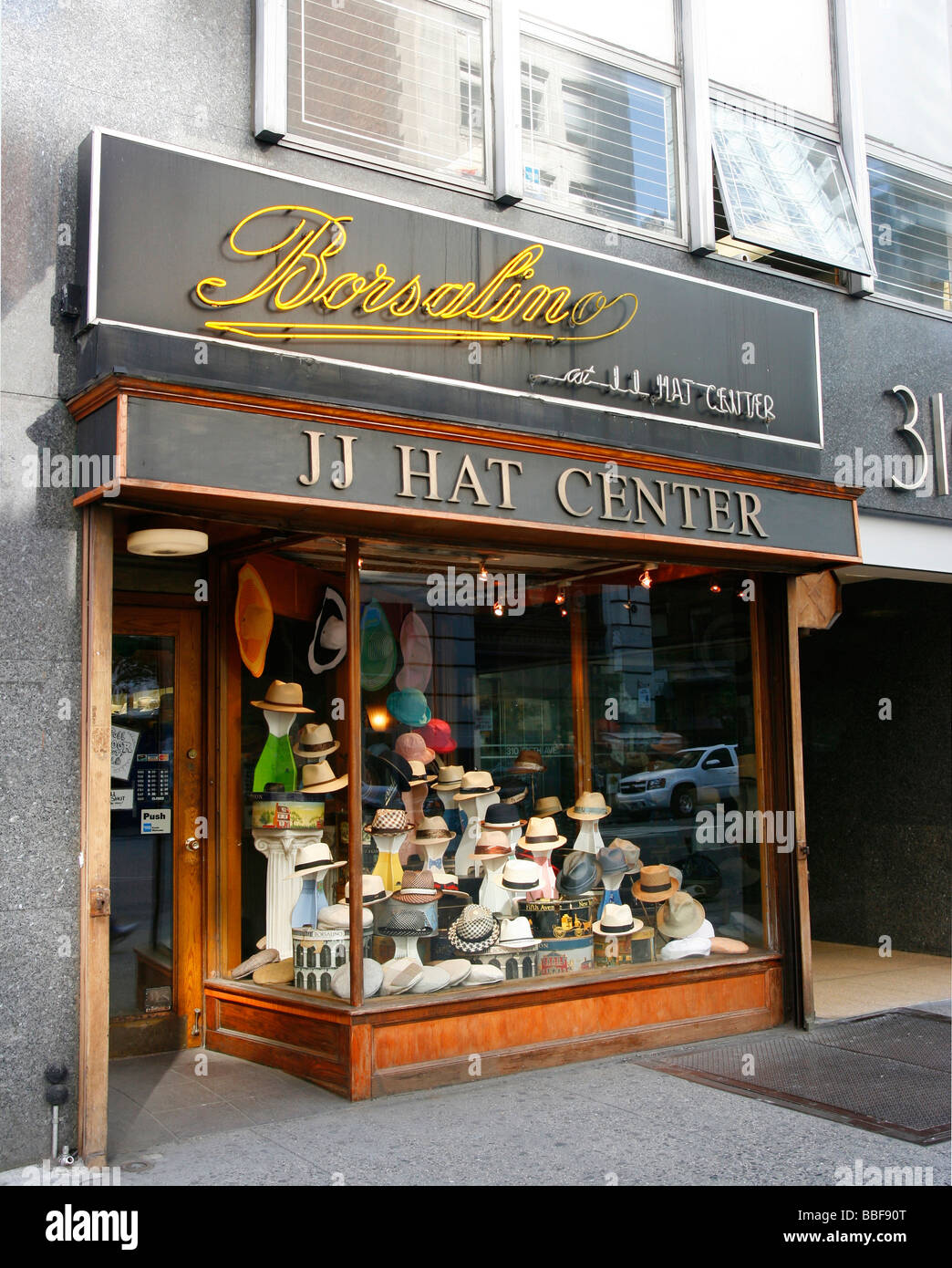 450221f0880 Hat shop in New York City
